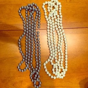 Jewelry - 2 XLong Bead Necklaces!!